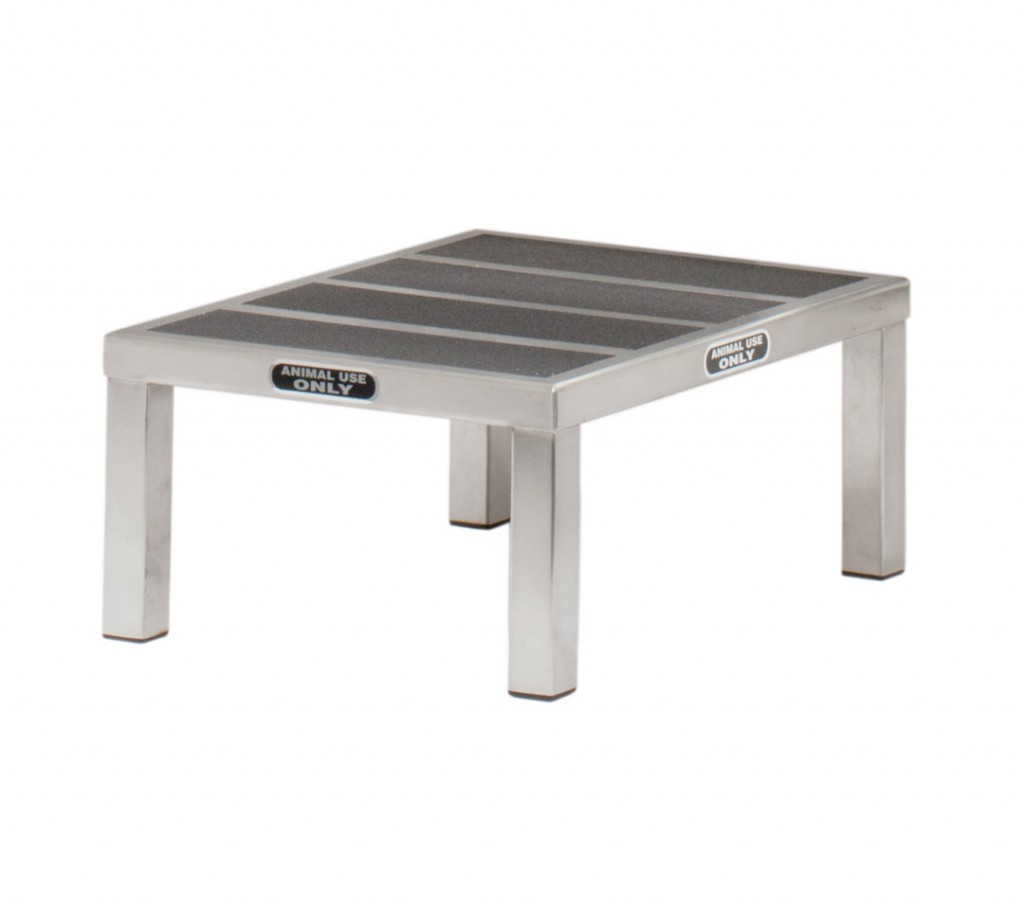 Pleasing Forever Stainless Steel Canine Step Stool Gmtry Best Dining Table And Chair Ideas Images Gmtryco